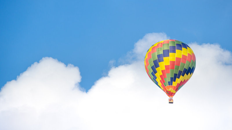 The Hot Air Balloon - a deeply relaxing journey