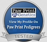 Diane Stirling - Paw Print Genetics Profile