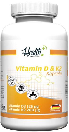 Zec+ Health+ Vitamin D3+K2