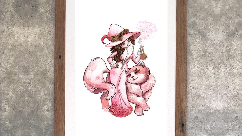 """""""Freya the Cat"""" Original Watercolor Painting"""