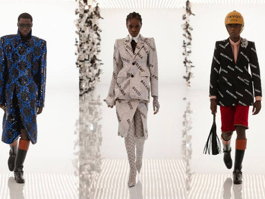 """We Give A Salute To Gucci's 100th Anniversary Show In """"Collaboration"""" With Balenciaga"""