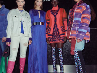 """Showcasing Mark Fast """"Winter Ocean Dive"""" AW21 Fantasy Collection"""