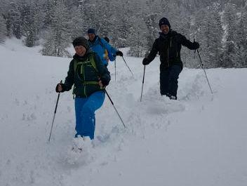 Schneeplausch-Tage im Engadin