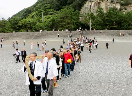 お綱掛け神事が中止 花の窟神社10月2日の秋季大祭