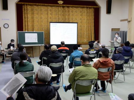 2月中旬から現地調査 紀宝熊野道路 地元説明会で協力求める