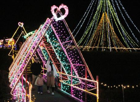 光灯す明るい話題 光の祭典in紀宝 12月にイルミネーション