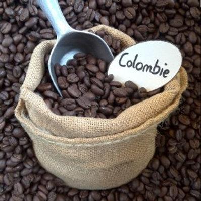 Café Colombie brun