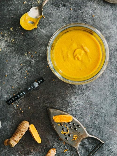 Moutarde jaune au curcuma *