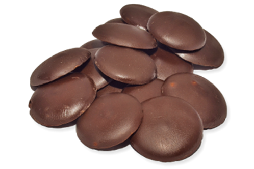 Pastilles de chocolat 70% *