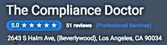 Compliance Doctor has5.0 star rating on customer satisfaction.