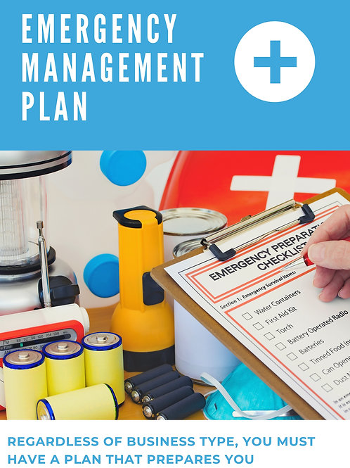Emergency Management Plan Template for Surgery Centers