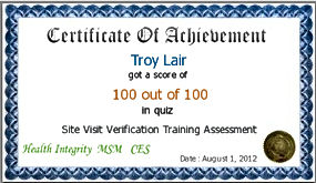 Compliance Doctor passes Medicare Test 100 of 100 questions.