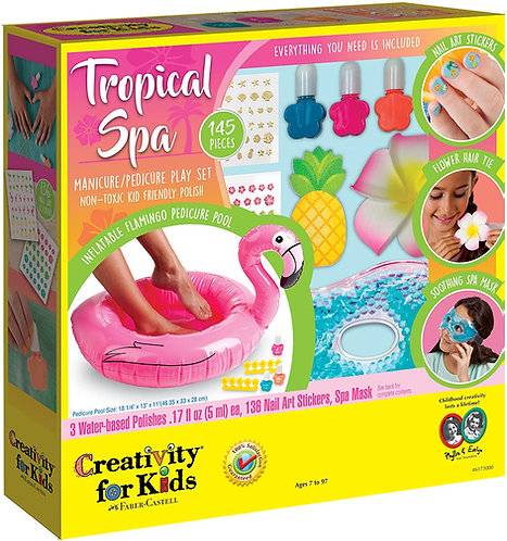 Tropical Spa - Creativity for Kids