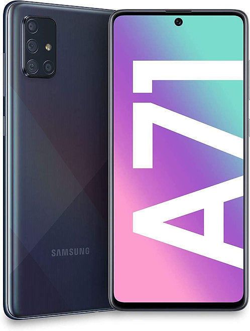 A71 128GB Dual Prism Crush Black - Samsung