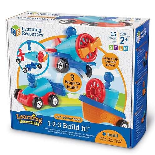 123 Build It Stem 2+- Learning Essentials