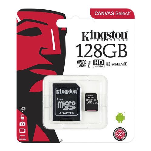 Memory Card 128GB – Kingston