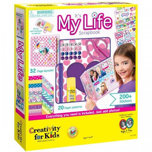 It's My Life ScrapBook  - Creativity for Kids