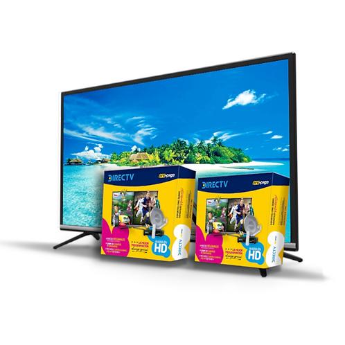 Haier 50″ Double D-TV Bundle