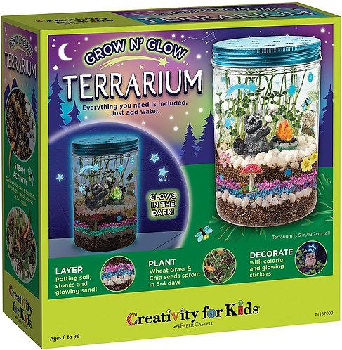 Grow N Glow Terrarium - Creativity for Kids