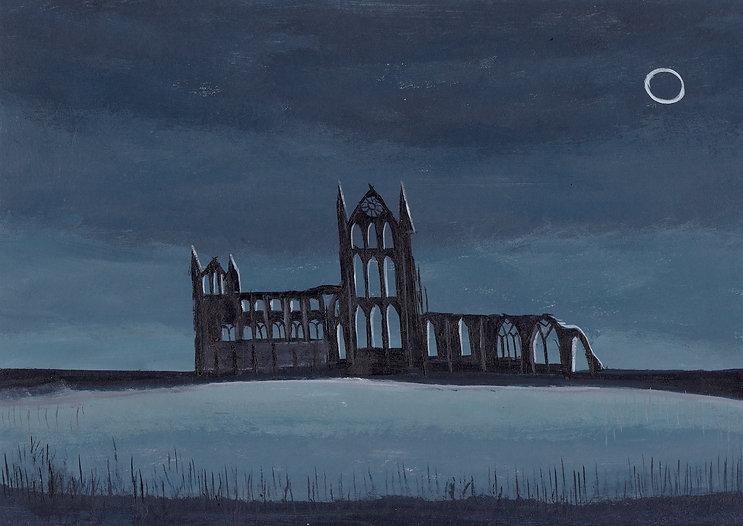 Whitby abbey, 21 x 15cm.jpg