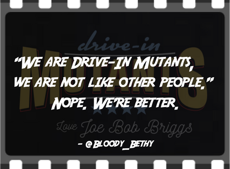 """We are Drive-In Mutants, we are not like other people."""
