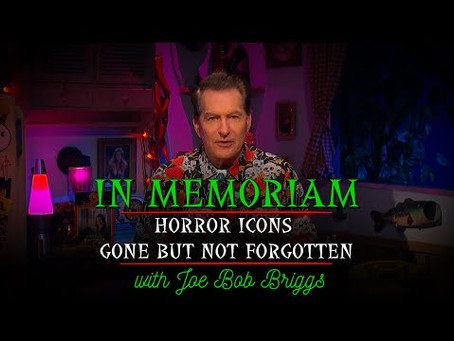 Joe Bob Briggs releases his first YouTube Video!