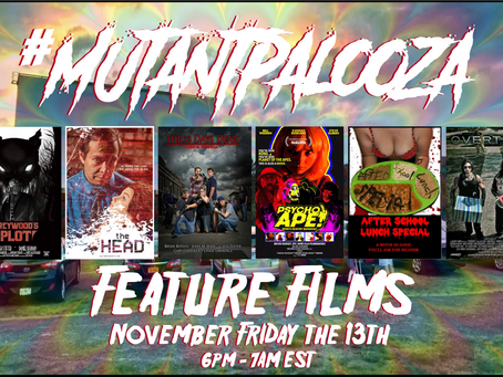 #MutantPalooza is TODAY!!