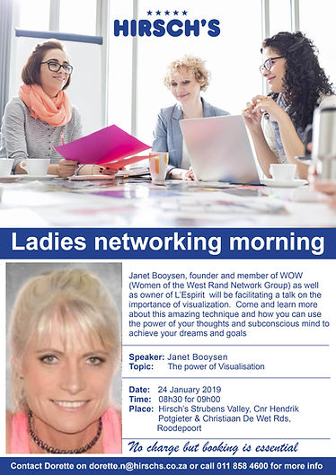 Ladies networking morning2 Power of visu