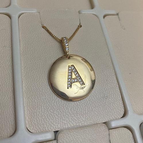 Medalha Inicial Diamond
