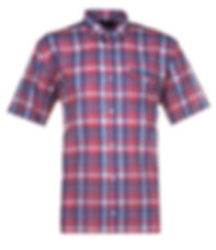 SH278_SHORT_SLEEVE_CHECK_SHIRT_BUTTON_DO
