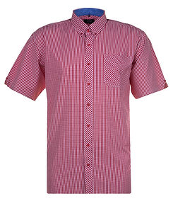 SH291_GINGHAM_SHORT_SLEEVE_SHIRT_RED_WHI