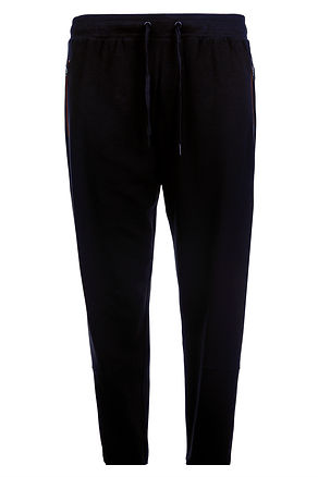 LW108 SLIMMER FIT RIB KNIT JOGERS WITH K