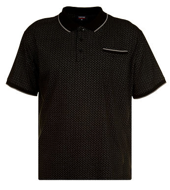 P155 ALL OVER PAISLEY PRINT JERSEY POLO
