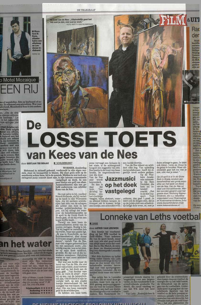 De Telegraaf 8 april 2010