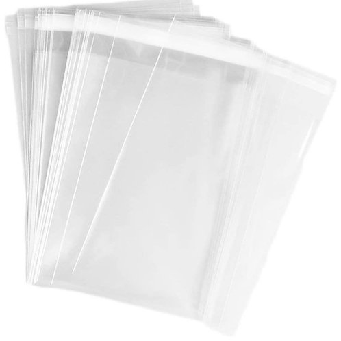 Pack of 50pcs Reusable & Resealable Clear Small Bags