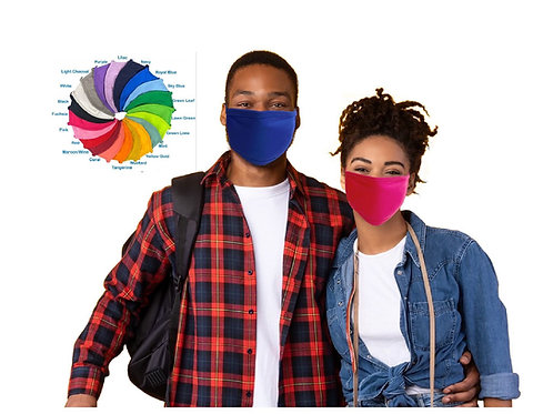 Heat Transfer Starter Pack! High Quality ADULTS Washable 3-Ply Cloth Face Masks