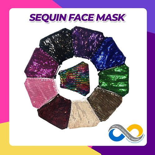 3-Ply Bling Bling Sequin Face Mask