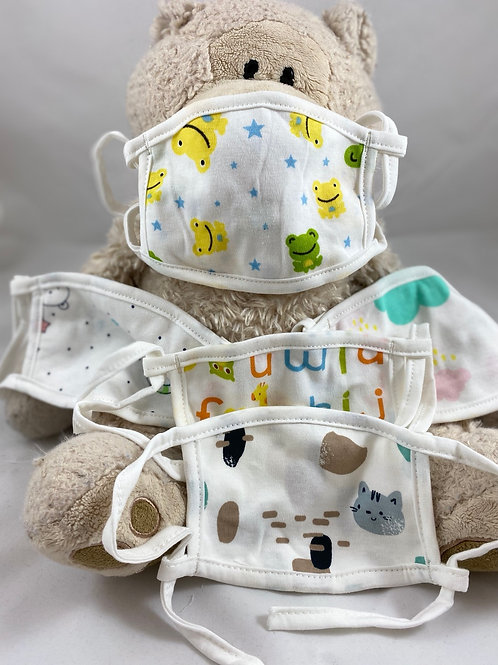 2-Ply Kids Cloth Face Covers