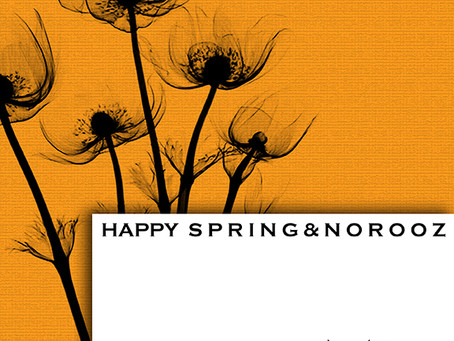 Happy Norooz and Spring!