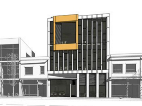 "Stay tuned for more on ""Teddington Commercial Building"" !"