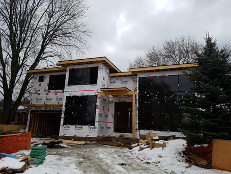 Strathcona Gardens Residence is under construction