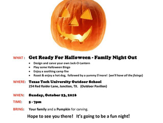 Halloween Fun along the South Llano