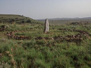 Richard Long (United Kingdom), Standing Stone Circle, 2011