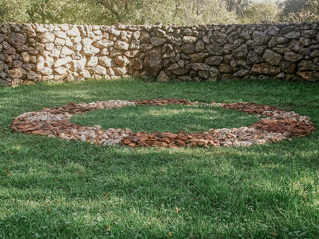 Richard Long (United Kingdom), Humankind Ring, 2011