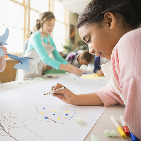 Vacation Art Camp for Kids: Grades 1-6 With Kathy Dunn