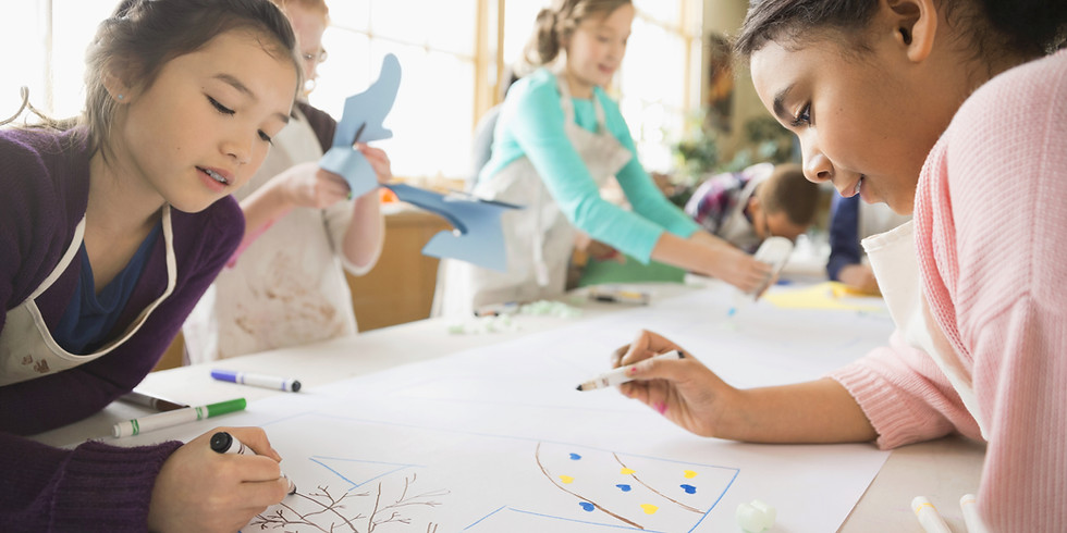 Summer Series - Kids Art Day Camp - Ages 12 to 16