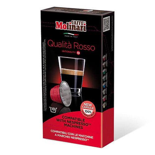 Molinari Qualita Rosso capsules 10 pcs