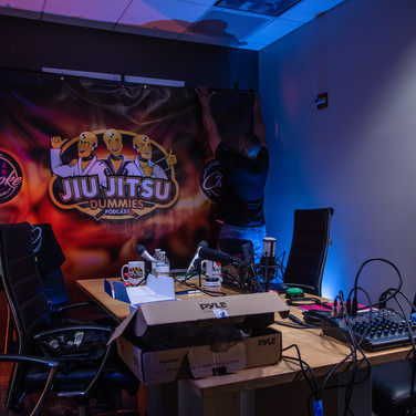 Jiu Jitsu Dummies Podcast Studio