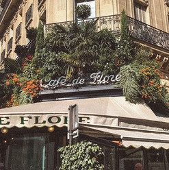 Parisian Cafés ✈️🌿 the food we ate at r