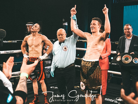 Thysse is king of Super Four Series | Golden Gloves Tournament | The Sowetan
